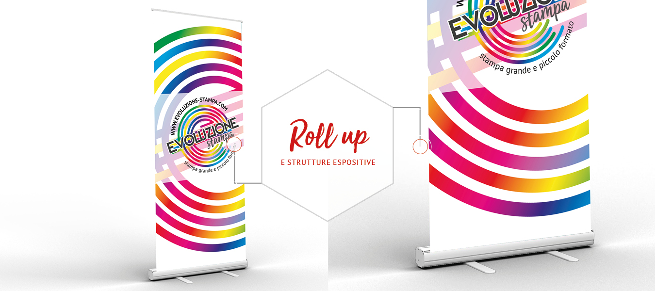 Roll up ed espositori fiera